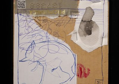 HATÁR-VONAL/BOUNDARIE-LINE -gondolatfosszilia/thought fossil 012