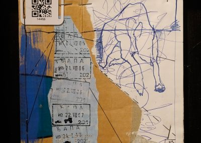 HATÁR-VONAL/BOUNDARIE-LINE -gondolatfosszilia/thought fossil 013