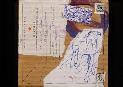 HATÁR-VONAL/BOUNDARIE-LINE -gondolatfosszilia/thought fossil 014